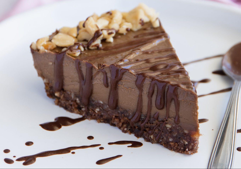 Cheesecake di Avocado al Cioccolato (vegan – La più Buona!)